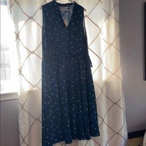 NWT 2X Anne Klein sleeveless dress